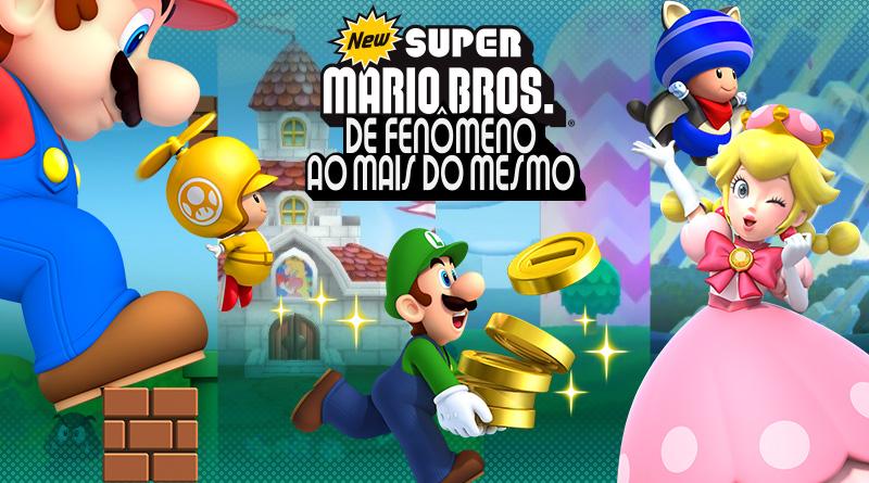 New Super Mario Bros.: De fenômeno ao mais do mesmo
