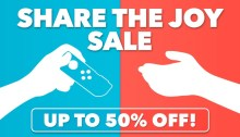Nintendo eShop Sale Share the Joy Sale