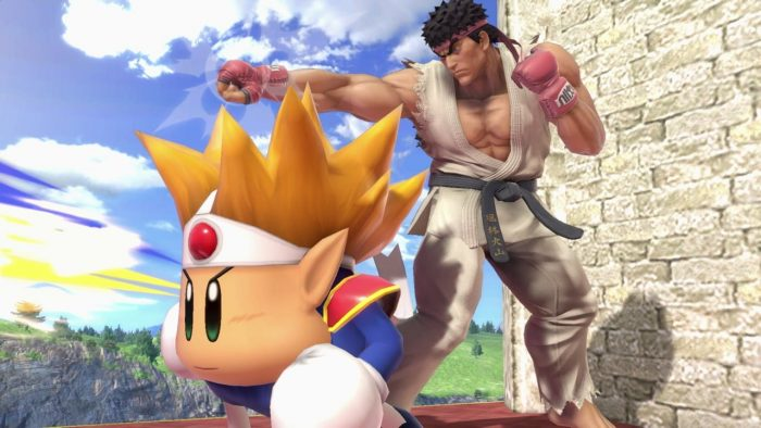 Super Smash Bros Ultimate Ryu Fighter Screenshots