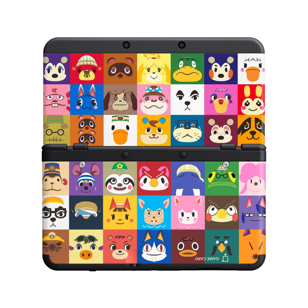 Photos Of The Animal Crossing New 3DS Cover Plates