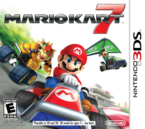 Mario Kart 7 Features Red Case For North American Re