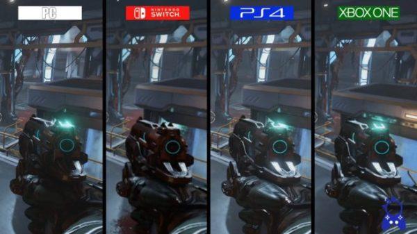 Doom - Switch vs. PC / PS4 / Xbox One video comparison ...