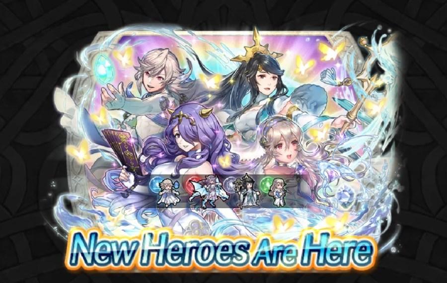 Fire Emblem Heroes New Heroes Adrift