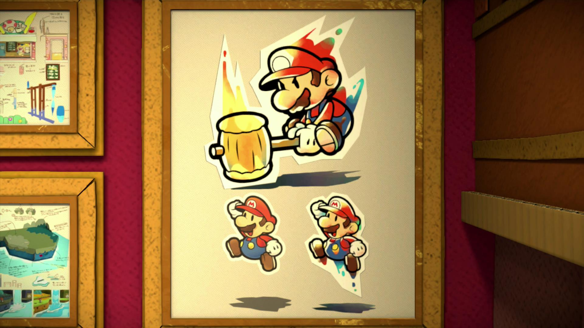 Another Round Of Paper Mario Color Splash Concept Art Characters Locations More Nintendo