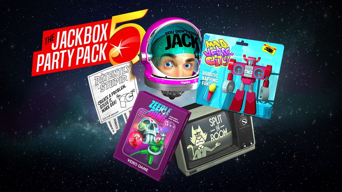 The Jackbox Party Pack 5 Footage Nintendo Everything