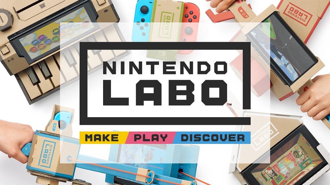 Nintendo Labo - Trailer de Anúncio
