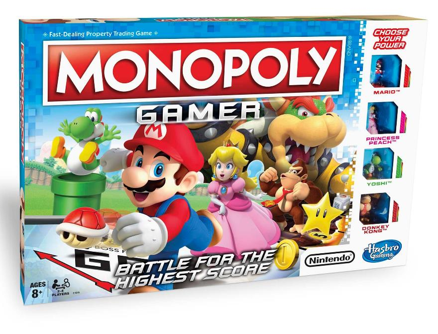 Monopoly Gamer Collectors Edition Unboxing Nintendo