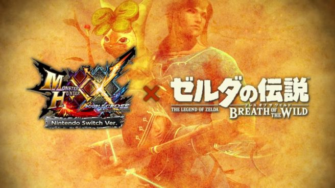 Monster Hunter XX Switch Version - DLC de The Legend of Zelda - Breath of the Wild