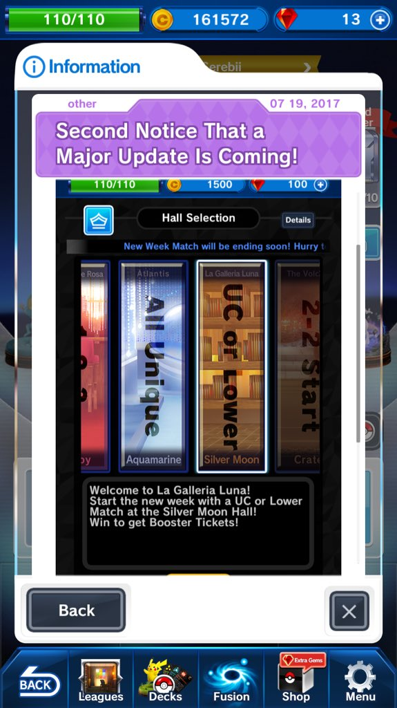 New Screenshot Hints At A New Feature For Pokemon Duel39s