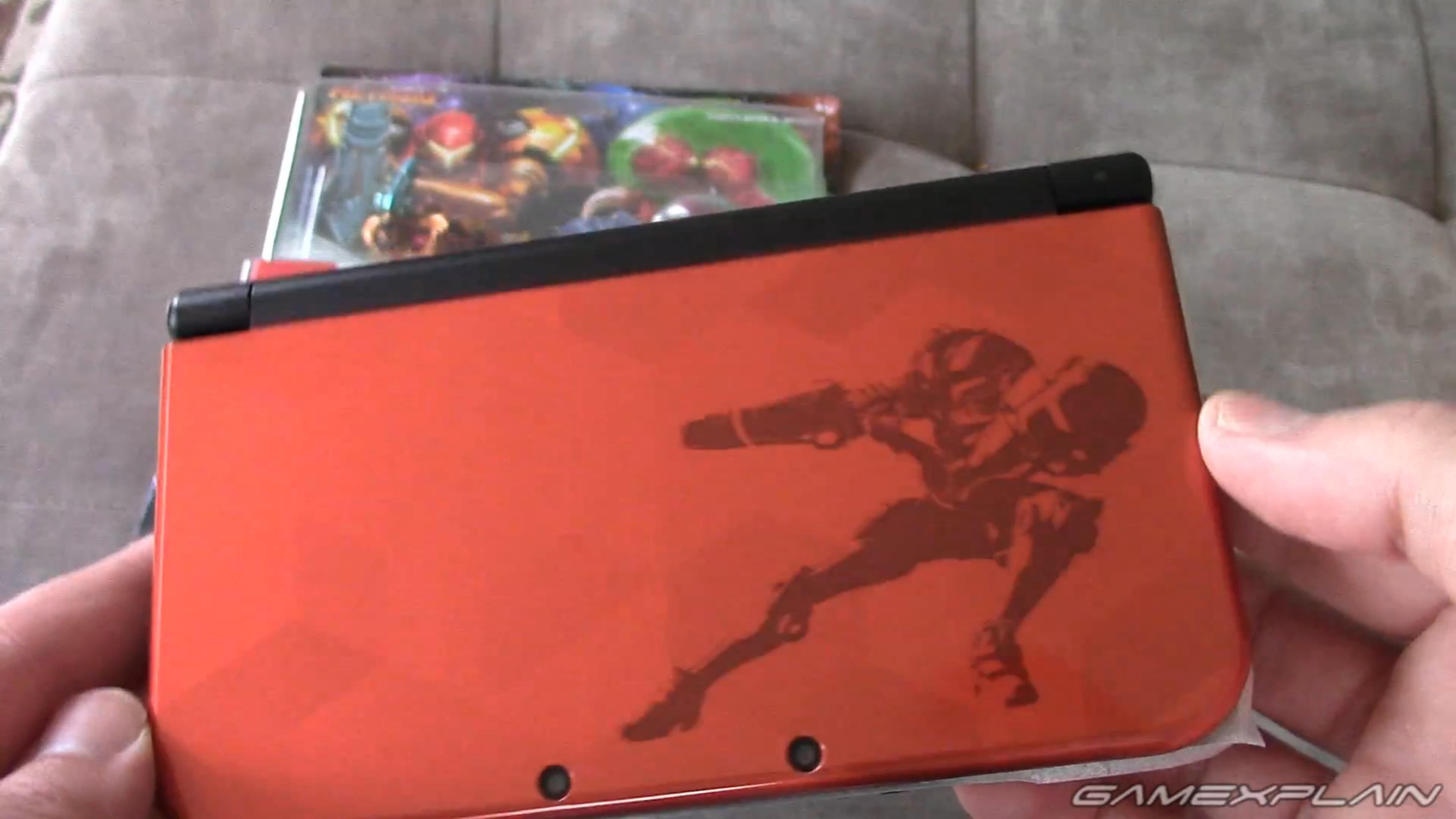 Samus Edition New 3DS XL New Metroid Amiibo Samus