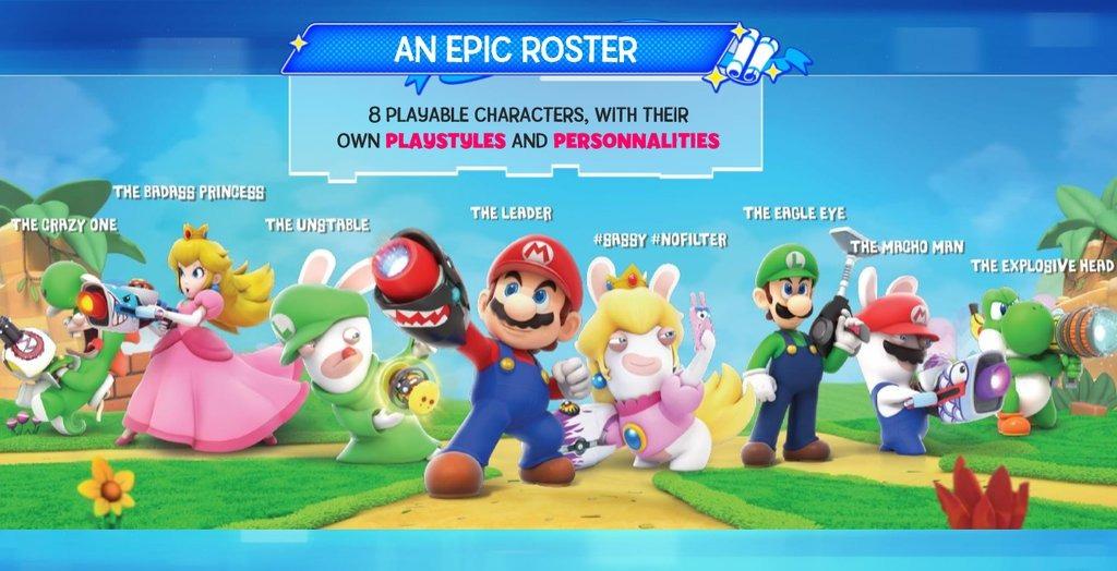 Promo Art Leaked - Mario+Rabbids Kingdom Battle