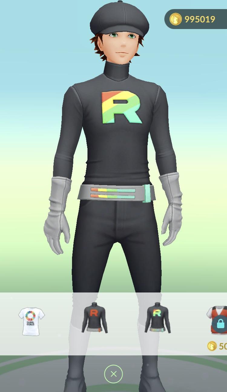 Pokemon GO Adds Team Rocket Clothing Nintendo Everything