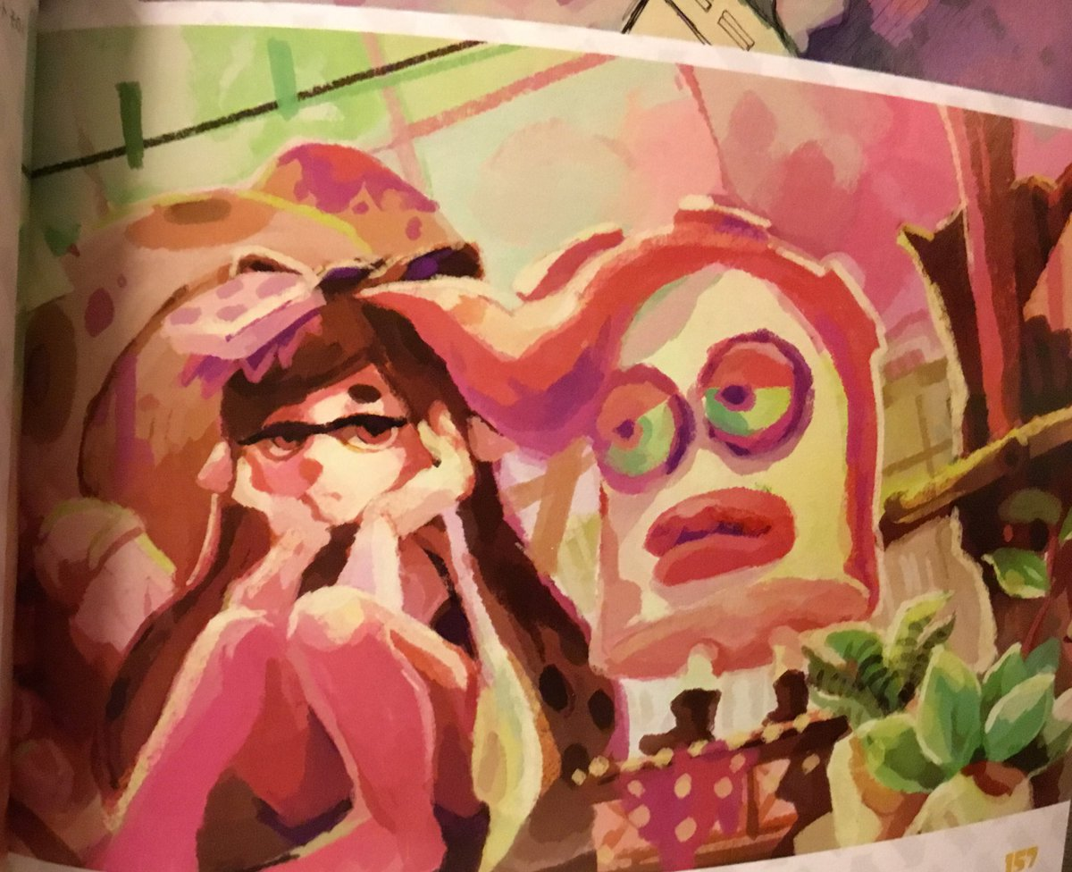 Photos From The New Splatoon 2 Art Book Nintendo Everything