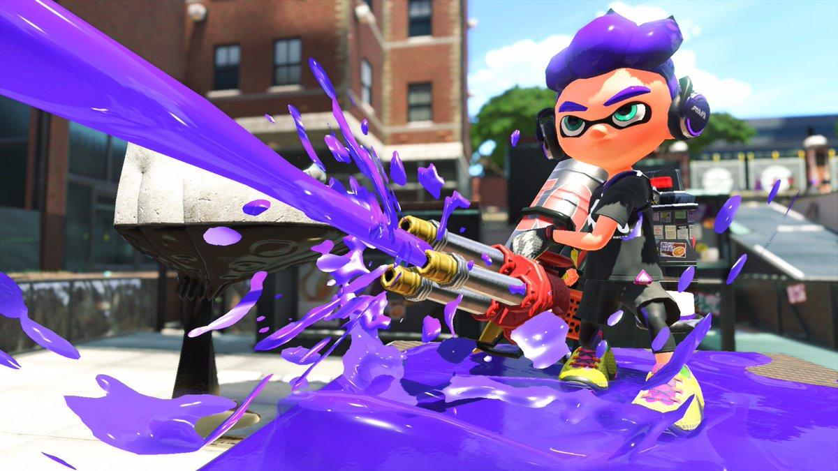 Splatoon 2 Adding Hydra Splatling This Weekend Nintendo