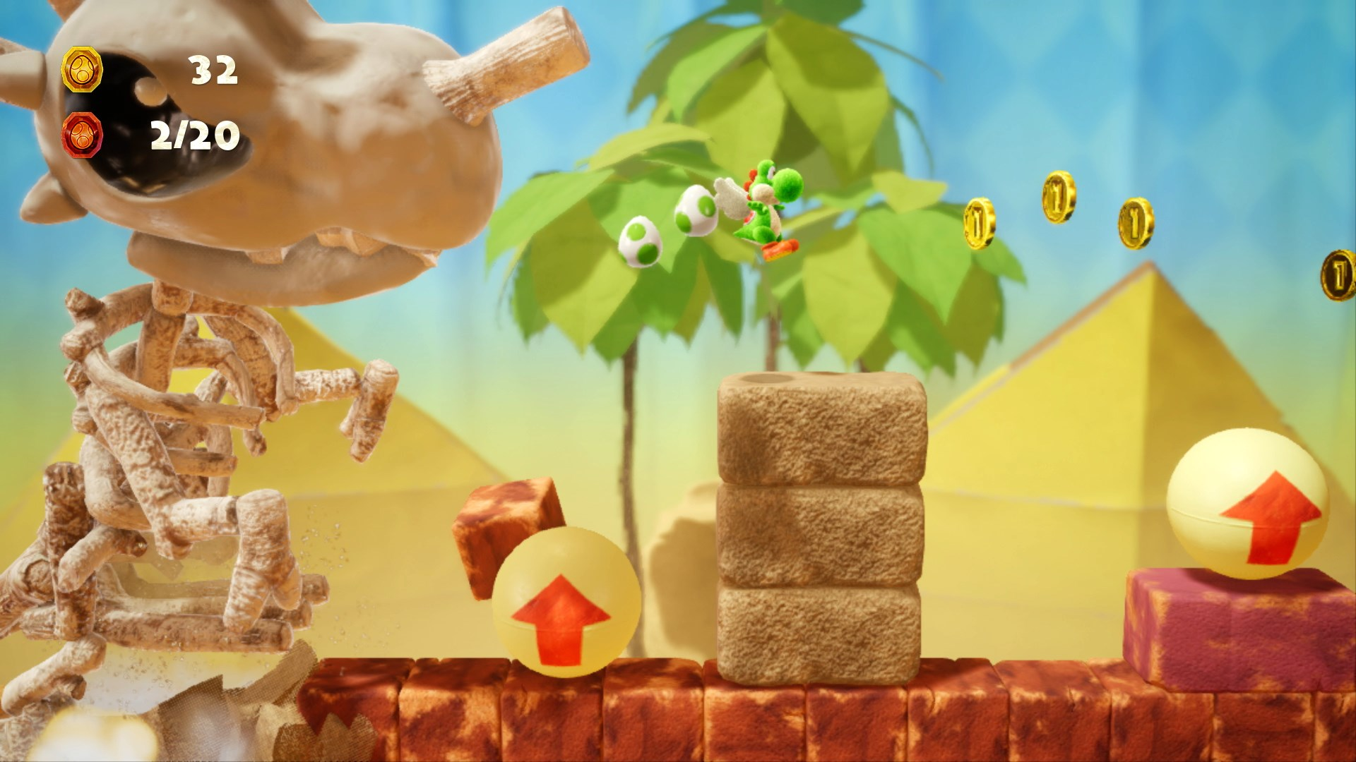 Yoshis Crafted World Screenshots And Art Nintendo