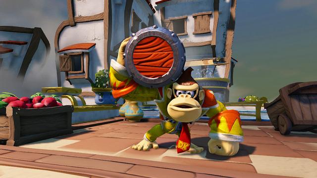 Skylanders SuperChargers Donkey Kong Gameplay Nintendo