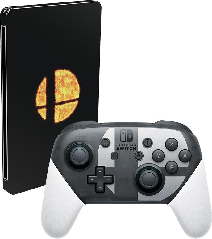 Super Smash Bros Ultimate Limited Edition Pro Controller