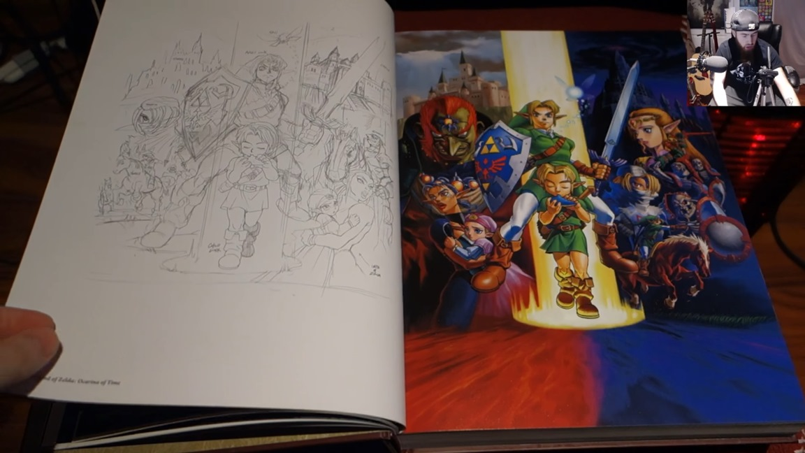 Video A Look At The Legend Of Zelda Art Amp Artifacts