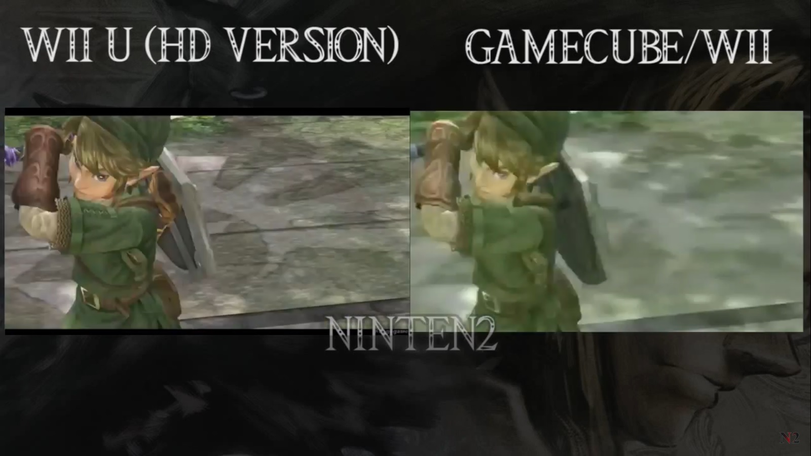 Zelda Twilight Princess HD Vs Original Comparison