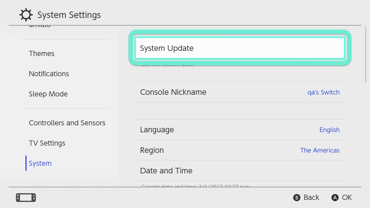 Switch Firmware 13.0.0 Adds Bluetooth Headphone Support and More
