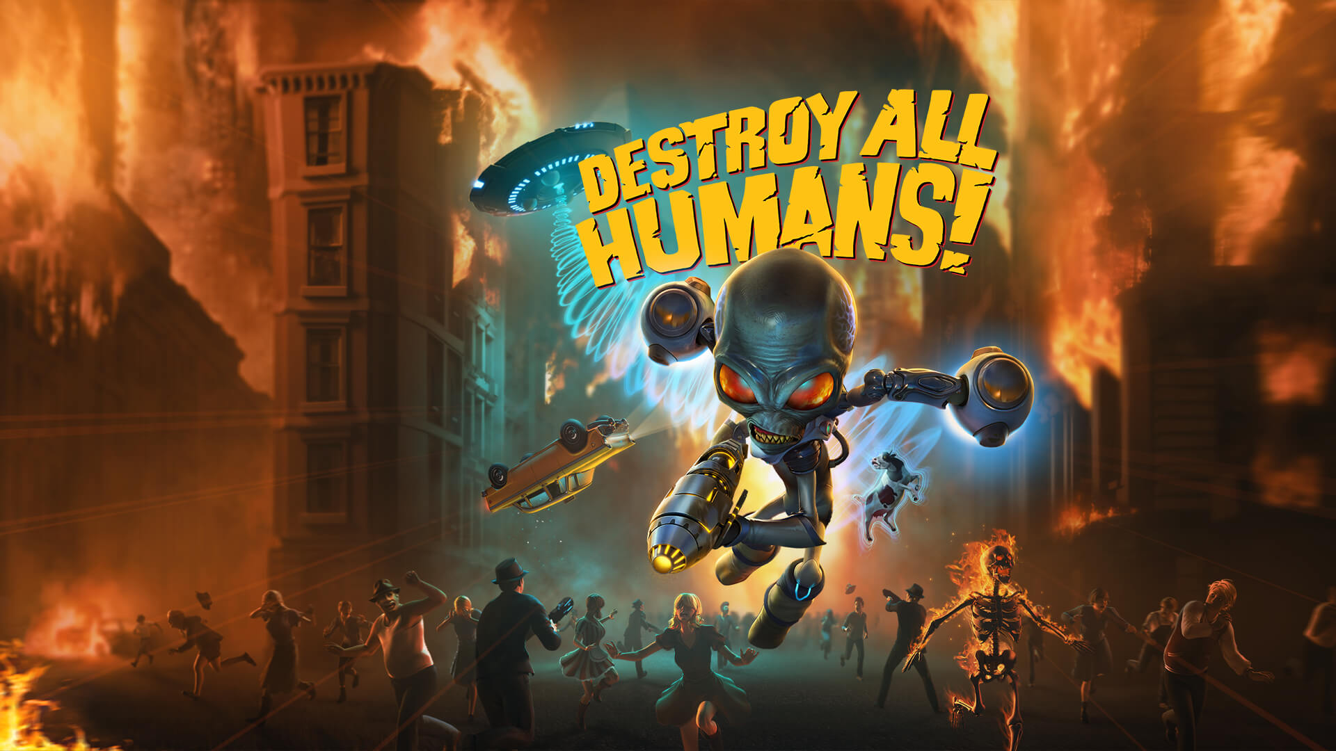 Destroy All Humans! Announced For Switch
