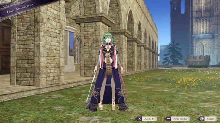 Fire Emblem Three Houses Sothis Outfit
