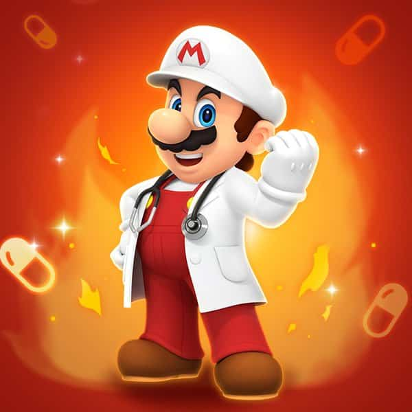 Dr. Mario World Getting New Stages, Dr. Fire Mario, Dr. Fire Peach, And More On January 9 2