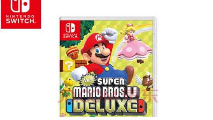 NEW SUPER MARIO BROS. U DELUXE PHYSICAL EDITION LAUNCHES JAN 15 IN CHINA 1