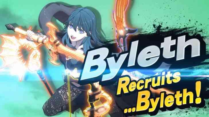 Byleth Revealed As The Next DLC Fighter For Super Smash Bros. Ultimate 2