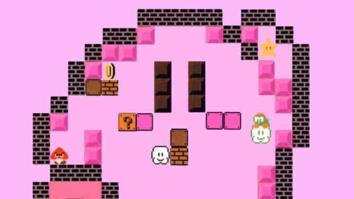 Fan Art: Kirby X Super Mario Bros. Nintendo Tokyo Style 6