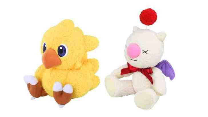 Final Fantasy Mofumofu Chocobo And Moogle Plushies Up For Pre-Order 1