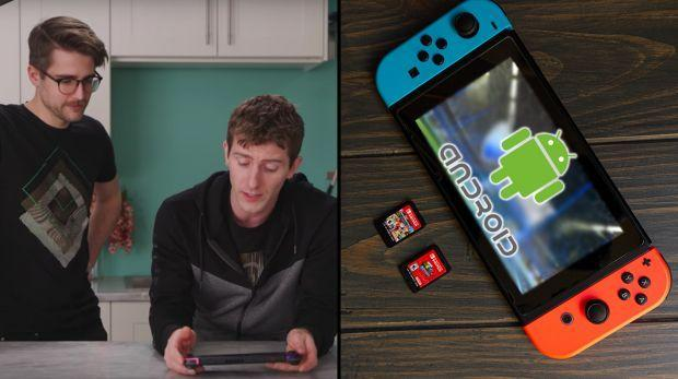 Linus Tech Tips explains why you should install Android on Nintendo Switch 1
