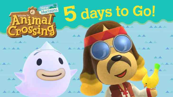 Nintendo Shares '5 Days To Go' Countdown For Animal Crossing: New Horizons 1