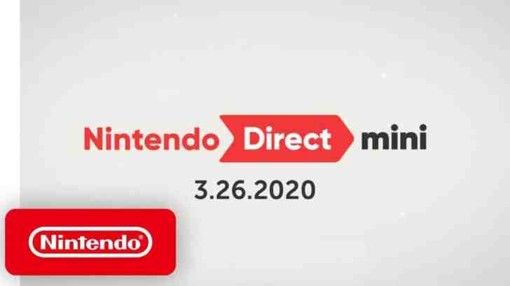Nintendo Direct Mini Aired On March 26 4