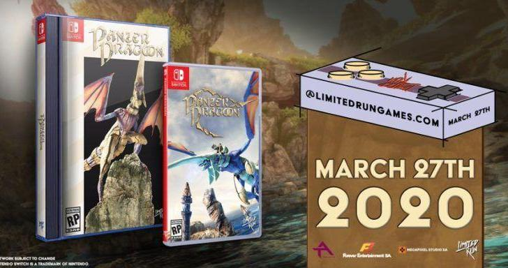 Limited Run Reveals Physical Release For Panzer Dragoon: Remake, Pre-Orders Open March 27 4