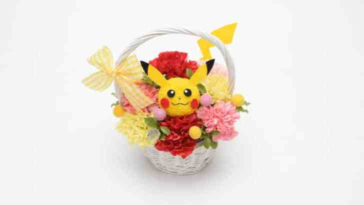 Pokemon Center Japan Is Now Offering Pikachu Flower Baskets For Mother's Day 2