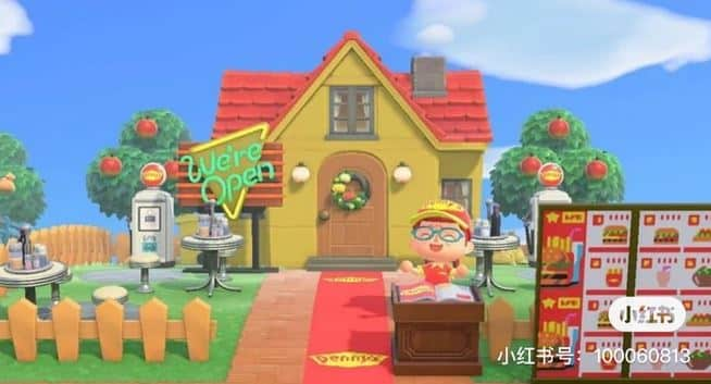 Build Your Own McDonald's Restaurant In Animal Crossing: New Horizons 2