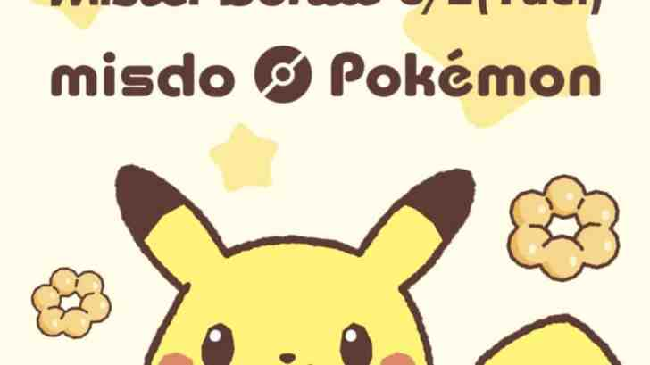 Pokemon X Mister Donut Campaign Coming To Taiwan 23