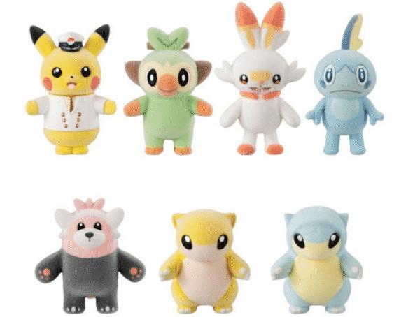 Pokemon Mini Furry Mascot Dolls Series 5 Announced In Japan 2