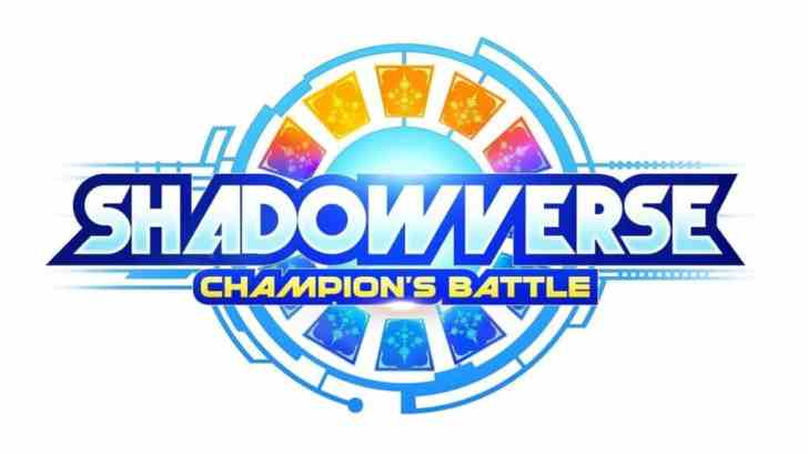 SHADOWVERSE: CHAMPION'S BATTLE TRADEMARKED IN THE WEST 1