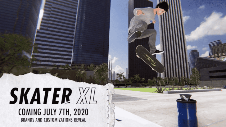 Skater XL Launches July 7 For Nintendo Switch 1