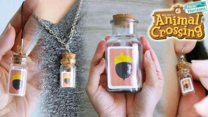 Fan Art: Animal Crossing New Horizons DIY Recipe In A Bottle 21