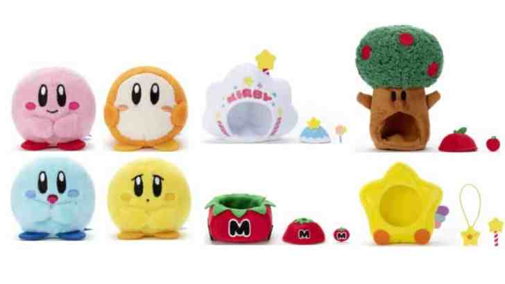 Kirby Minimagination Town Plushies Announced, Now Up For Pre-Order 3