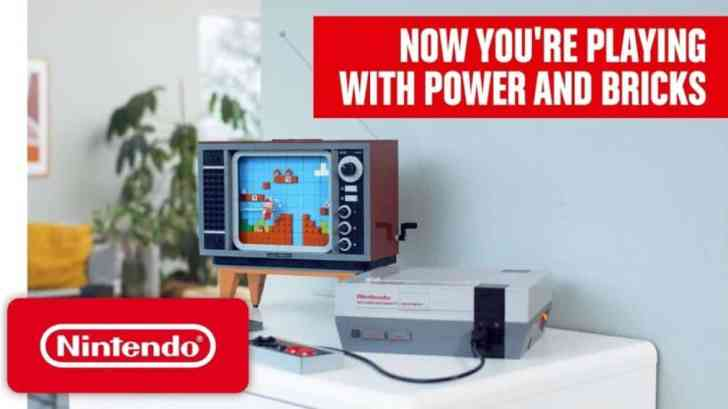 LEGO NINTENDO ENTERTAINMENT SYSTEM OFFICIALLY REVEALED, TRAILER SHARED 1