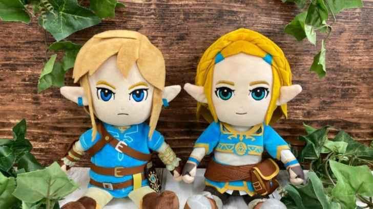 The Legend Of Zelda: Breath Of The Wild Zelda Plush Up For Pre-Order 1
