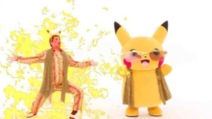 Check Out The Official Music Video Featuring Pen-Pineapple-Apple-Pen's Singer And Pikachu 1