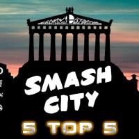 Smash City, 5 top 5 - Στατιστικά από τα τουρνουά της Αθήνας