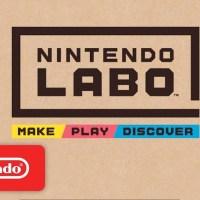Αποκαλύφθηκαν τα Nintendo Labo