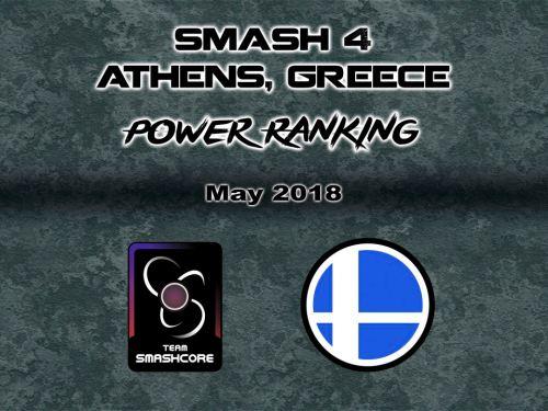 Athens Power Ranking – Μάιος 2018