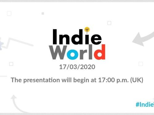 ανακοινώθηκε Indie World